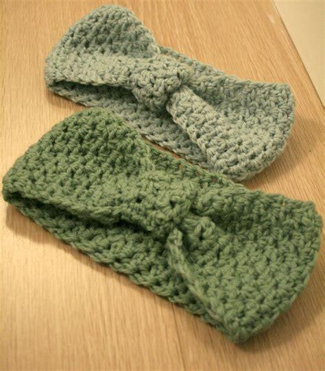 pattern to crochet a headband pin crochet headbands patterns for beginners on pinterest