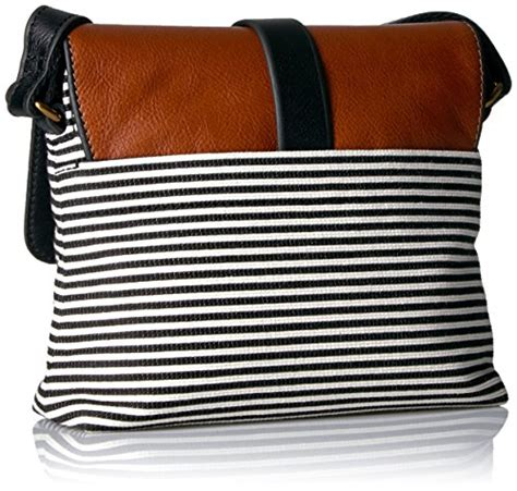 New Fossil Sling Bag Stripes fossil zb7226080 black stripe 11street malaysia messenger sling bags