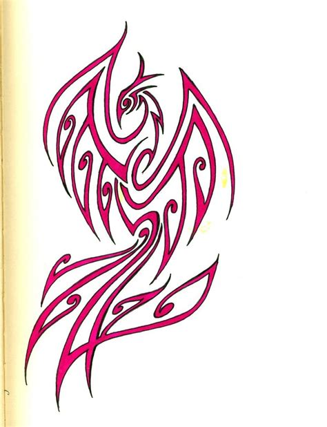 tribal tattoo phoenix pin tribal by sakashima designs interfaces