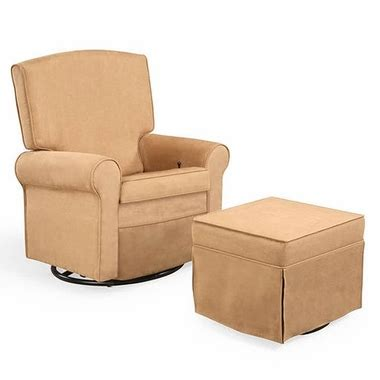 shermag reclining glider square back upholstered reclining glider 37204 g8 0181 by
