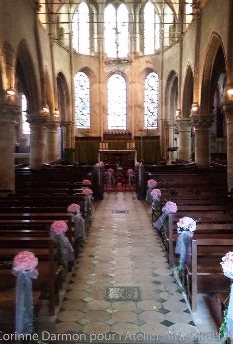 Deco Banc Eglise d 233 coration mariage pour bancs d 233 glise 171 amborella by corinne