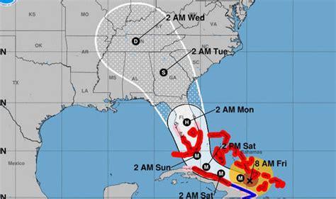 usa map jacksonville when will hurricane irma hit jacksonville path update as