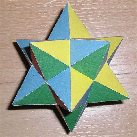 Paper Shapes - polyhedra decorations