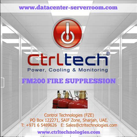 server room suppression data center suppression systems fm 200 system design