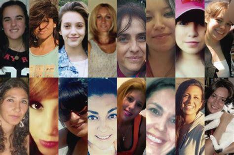 imagenes de mujeres victimas de violencia de genero femicidio las caras de las mujeres que fueron v 237 ctimas
