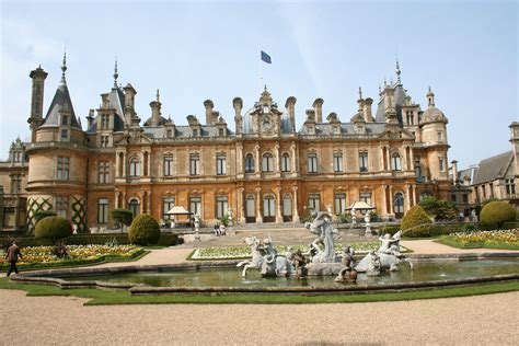 waddesdon manor waddesdon manor castle in united kingdom thousand wonders