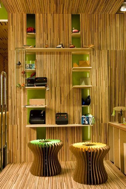 Bamboo In Interior Design by Eco Friendly Interior Design Ideas