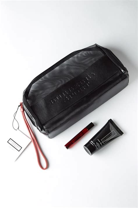 Sale Tas Burberry Set Pouch mens black burberry sport gift set toiletry bag