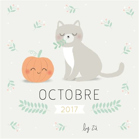 Calendrier Do It Yourself Le Calendrier Diy Octobre 2017 Z 252 Le