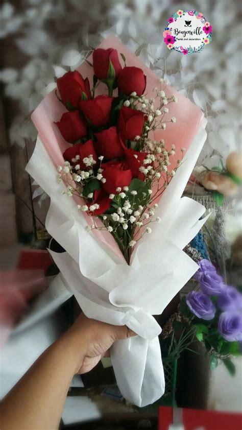 jual buket bunga mawar merah di kab bandung jawa barat katalog or id