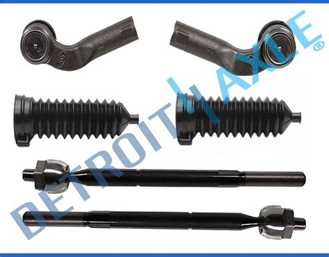 Tie Rod End Accent 1set Berkualitas brand new 6pc front suspension tie rod end and rack boot