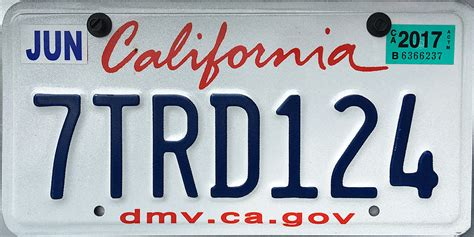 Sticker Plat California do i to get that green license plate sticker every