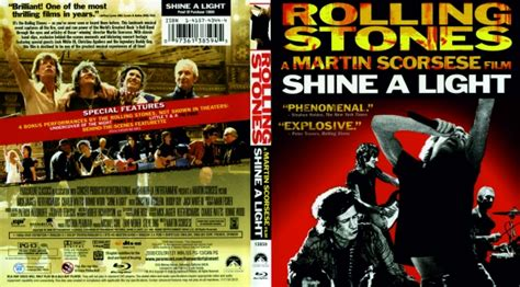 rolling stones shine a light dvd covers labels by