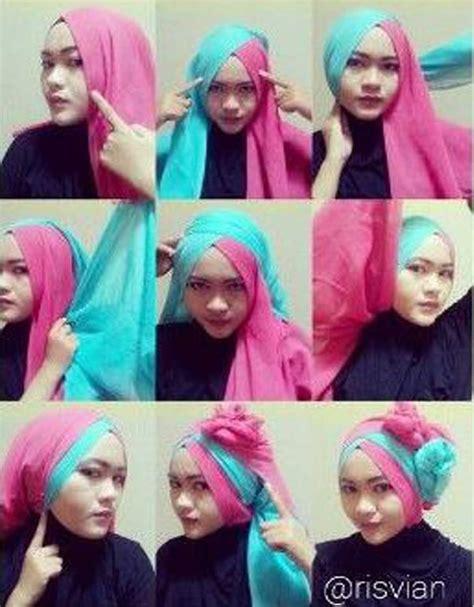 tutorial hijab dua lapis terupdate hijab terlengkap