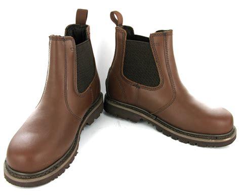 mens dealer work boots new mens leather goodyear welted northwest safety dealer