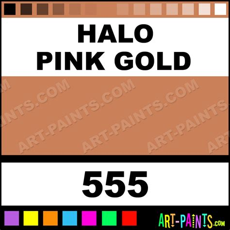 halo pink gold lumiere metal paints and metallic paints 555 halo pink gold paint halo pink