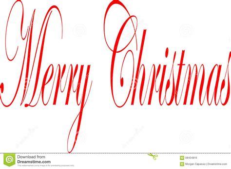 weihnachtsbaum auf englisch frohe weihnachten geschrieben auf englisch stock abbildung