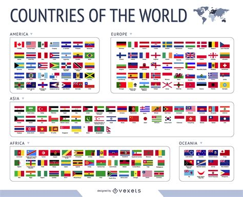 flags of the world gallery world flags vector vector download