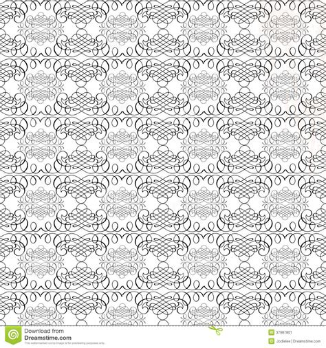 repeat pattern black and white black and white vintage calligraphy swirl repeat pattern