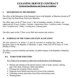Service Contract Template by Service Contract Template 9 Free Pdf Doc