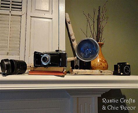 vintage camera home decor decorating with vintage cameras rustic crafts chic decor