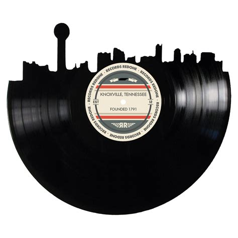 Knoxville Records Knoxville Skyline Records Redone Label Vinyl Record