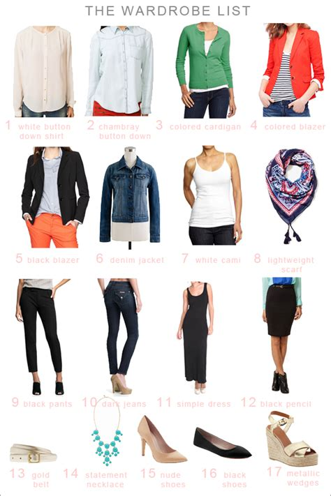 Wardrobe Staples For by Best Wardrobe Staples Myideasbedroom