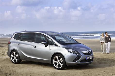 opel minivan all new 2012 opel zafira 7 seater minivan breaks cover