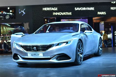 Paris 2014 Peugeot Exalt Concept Car Gtspirit