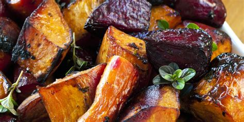 roasted vegetables balsamic roasted vegetables recipe epicurious