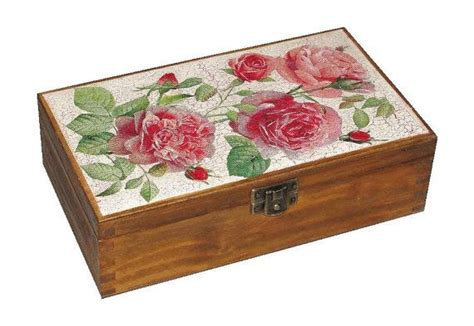 wooden box storage box treasury box by