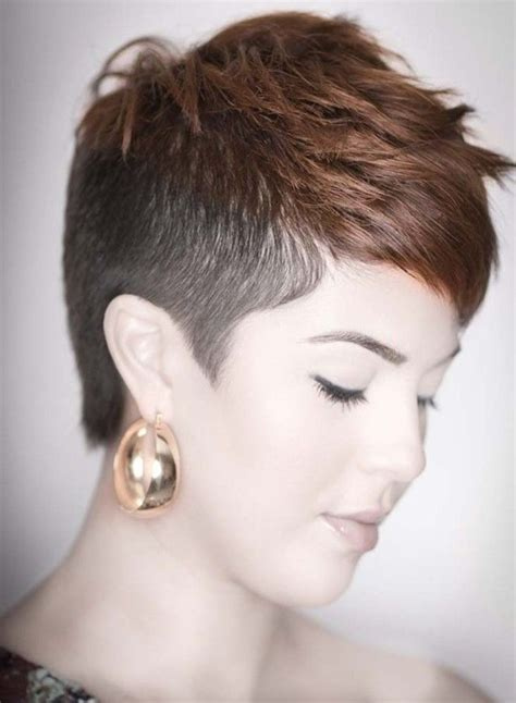 lady hair styles for short sides and long back short shaved hairstyles for women short shaved