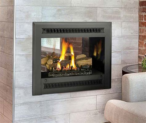 See Through Fireplace Insert by The Best Choice Around For Gas Fireplaces Install In