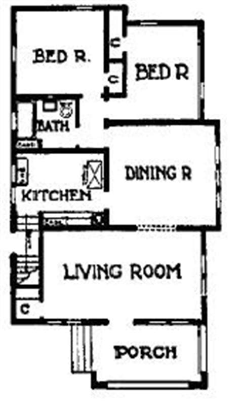 Chicago Style Bungalow Floor Plans by Tales Of A Urbanite Learning From Chicago The