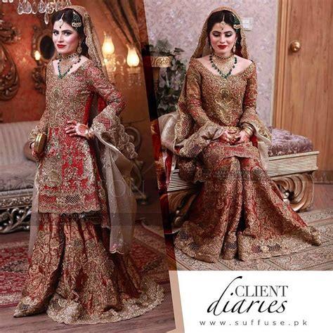 Latest Pakistani Bridal Dresses 2017 For Girls   StyleGlow.com