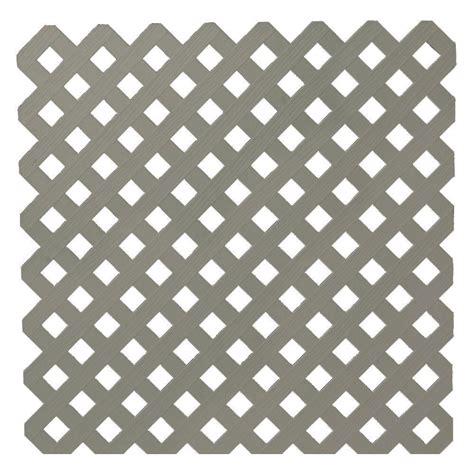 veranda lattice veranda 0 2 in x 48 in x 8 ft white vinyl privacy