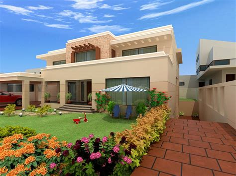 pakistan modern home designs modern desert homes - Home Design Pakistan Images