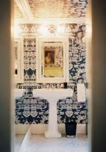 Powder Room Wall Paper Dwellers Without Decorators Wallpaper Your Powder Room Now
