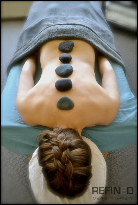 hot cold stone therapy refined massage therapy st