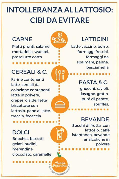 alimentazione x celiaci 187 cosa mangiare per intolleranza al lattosio
