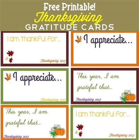 free printable thanksgiving picture cards thanksgiving gratitude cards