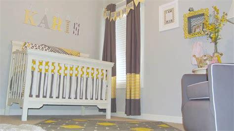 Lemon Curtains For Nursery A Trendy Diy Nursery On A Budget