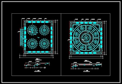 Ceiling Templates For Autocad | ceiling design template cad drawings download cad blocks