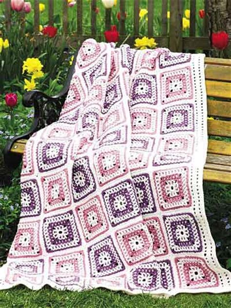 Patchwork Square Patterns - square afghan patterns pretty patchwork