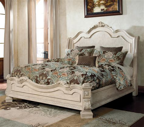 Furniture Millennium Bedroom by The Ortanique Traditional Bed With Sleigh Headboard