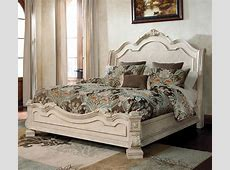 The Ortanique Traditional Queen Bed with Sleigh Headboard ... Ashley Smith Memphis Tn