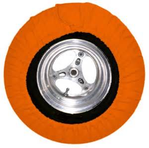 Orange Colored Car Tires Tire Covers Neon Orange