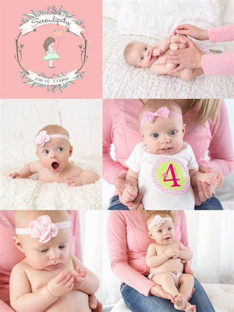 Home Design Ideas For Seniors Ava 4 Months Already Madison Wi Newborn Photographer