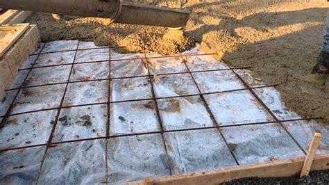 casadonti homes inc 6625 ferry rd pouring concrete