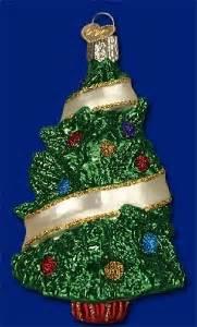 sentimental christmas tree old world christmas hand